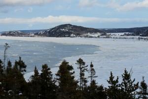 Paysage d'hiver. Photo: Katerine L. Michaud